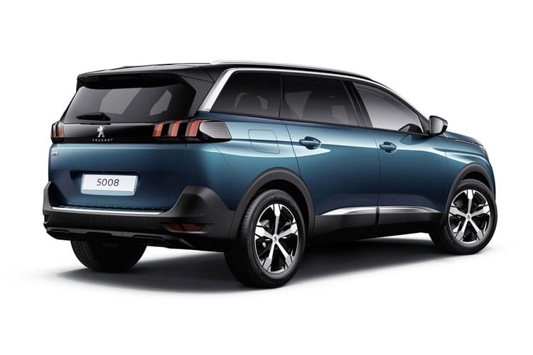 Peugeot 5008 SUV 1.5 BlueHDi 130PS GT 5Dr Manual [Start Stop] back view