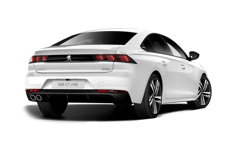Peugeot 508 Fastback HYBRID 1.6 PHEV 11.8kWh 225PS Allure 5Dr EAT8 [Start Stop] back view