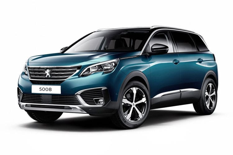 Peugeot 5008 SUV 1.5 BlueHDi 130PS GT 5Dr Manual [Start Stop] front view
