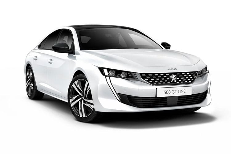 Peugeot 508 Fastback HYBRID 1.6 PHEV 11.8kWh 225PS Allure 5Dr EAT8 [Start Stop] front view