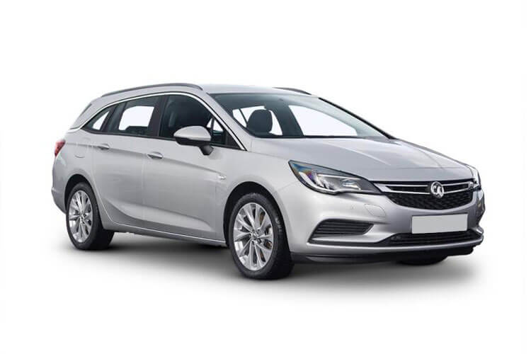 Vauxhall Astra Sports Tourer 1.2 Turbo 110PS SE 5Dr Manual [Start Stop] front view