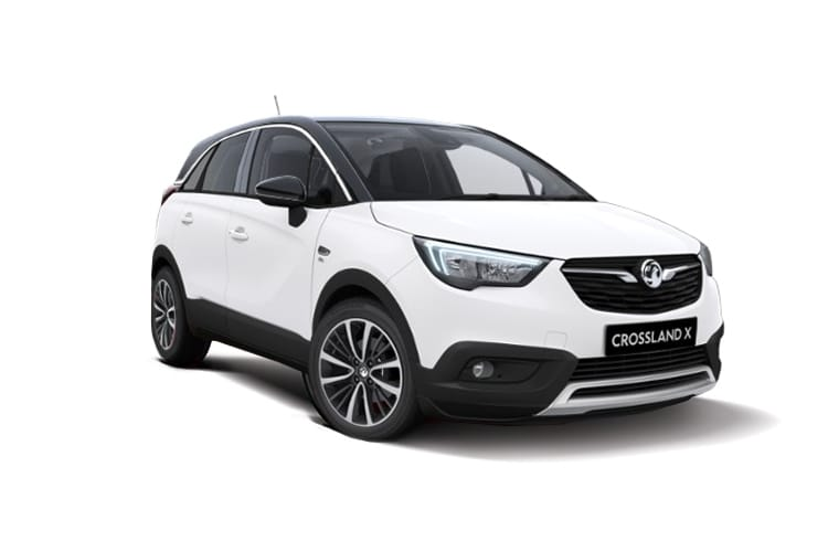 Vauxhall Crossland X SUV 1.5 Turbo D ecoTEC 102PS SRi Nav 5Dr Manual [Start Stop] front view