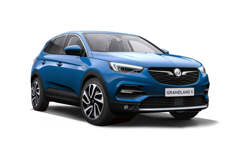 Vauxhall Grandland X SUV Hybrid 1.6 PHEV 13.2kWh 225PS SE Nav 5Dr Auto [Start Stop] front view