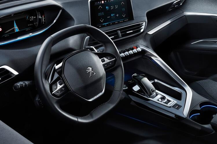 Peugeot 3008 SUV 1.5 BlueHDi 130PS GT 5Dr EAT8 [Start Stop] inside view