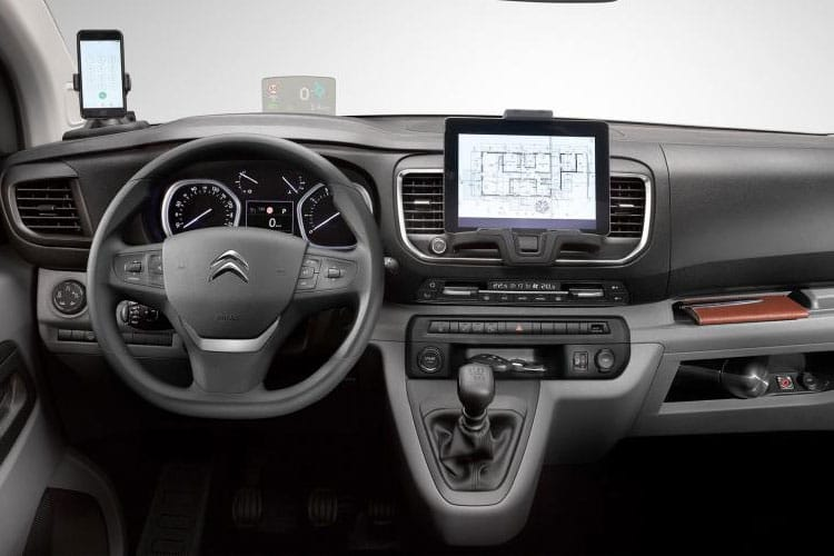 Citroen Dispatch e-Dispatch M 1200Kg Elec 75kWh 101KW FWD 136PS Driver Van Auto inside view